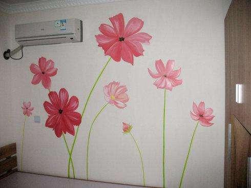 墙面装饰材料的手绘表现