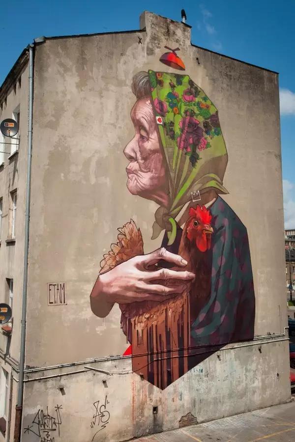 墙绘是最近几年在岛城流行的一种全新的墙面装饰方式