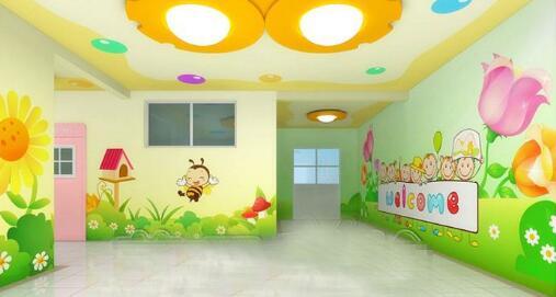 手绘墙为孩子的空间增加魅力