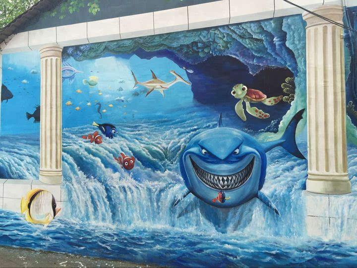 南昌涂鸦墙,南昌墙体喷绘广告,南昌墙壁绘画,南昌墙绘网
