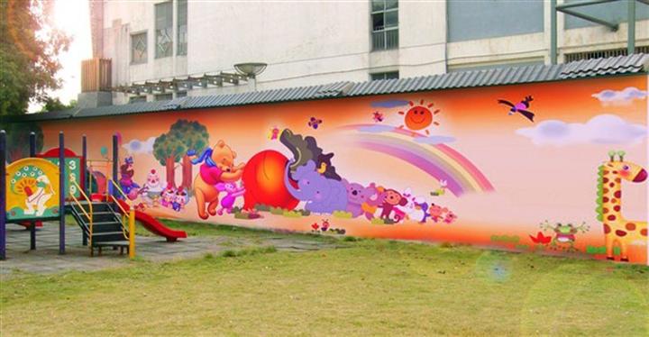 南昌墙体喷绘广告公司,南昌新农村墙绘,南昌墙绘公司,南昌学校墙体绘画